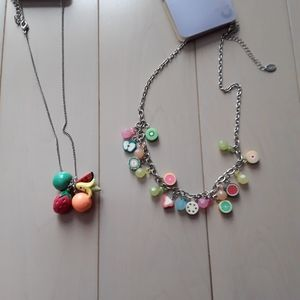 Claire's fruity necklace BNWT 2 for 1